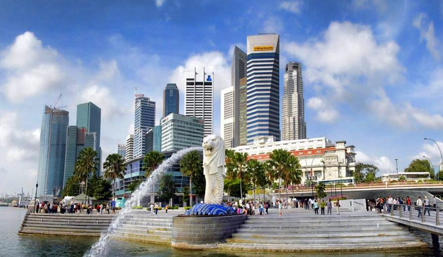 Что посмотреть в Сингапуре: Мерлион - символ Сингапура