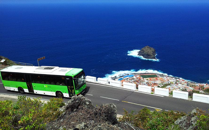 Автобусы на Тенерифе