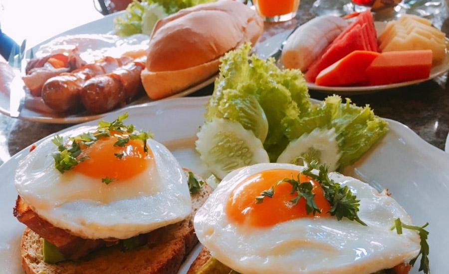 Завтрак в Nice Kitchen