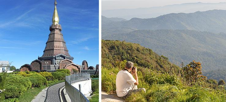 Поездка в парк Дои Интанон, провинция Чиангмай