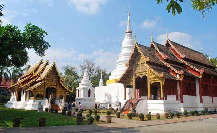 Храм Ват Пхра Сингх в Чиангмае