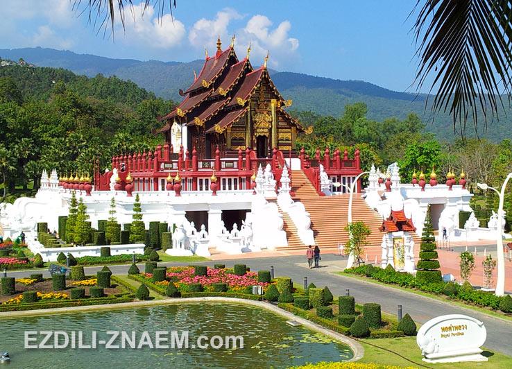 Парк Ратчапруек в окрестностях Чиангмая