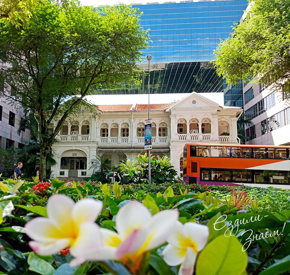 Сингапур - очень зеленый город
