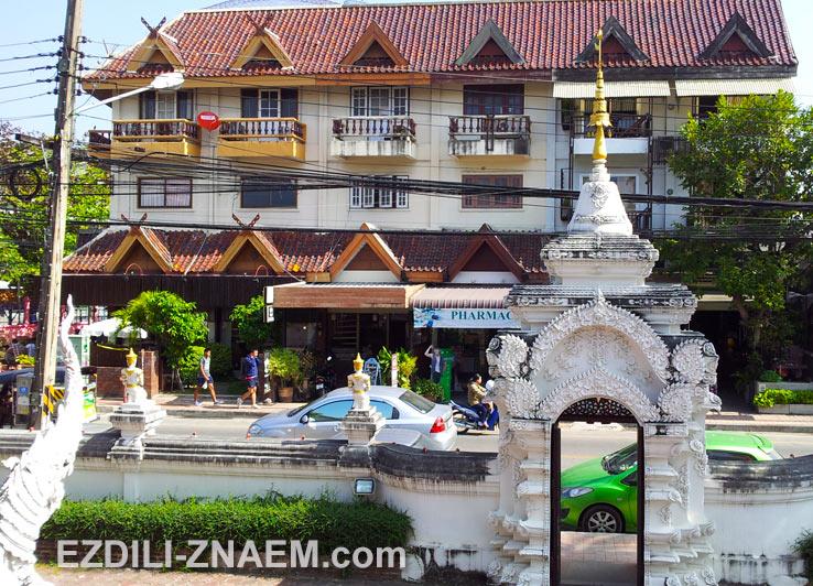 Прогулки по старому Чиангмаю