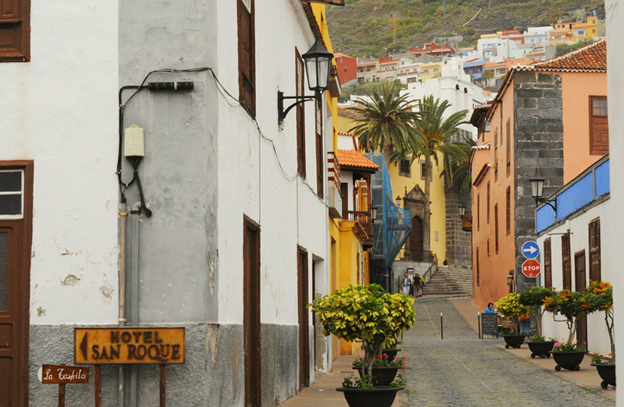 Улицы города Гарачико