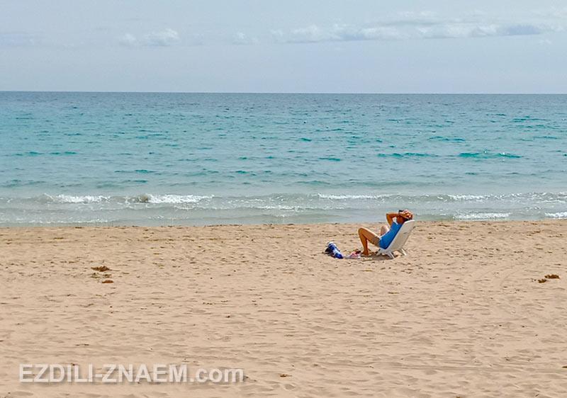 Пляжи Аликанте в марте