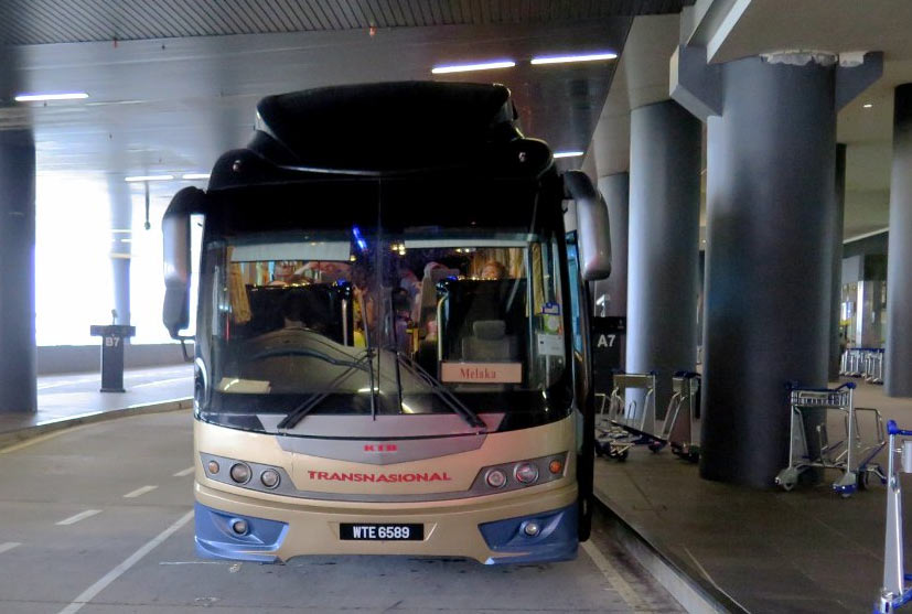 Как добраться на автобусе из аэропорта Куала-Лумпур в Малакку