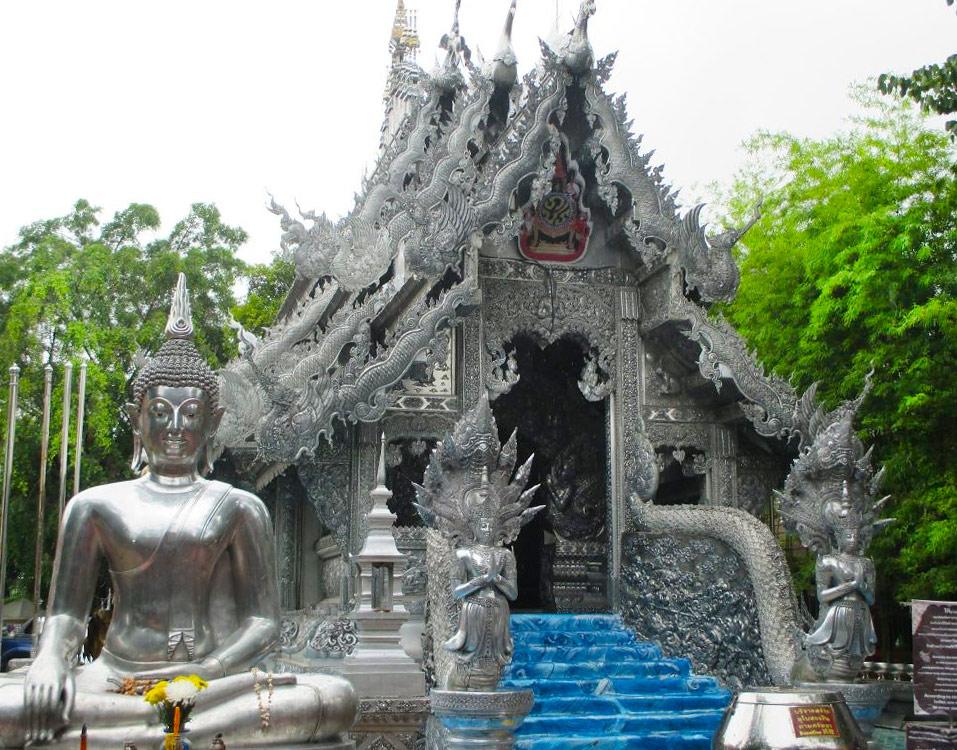 Wat Sri Suphan - Серебряный храм в Чиангмае (Таиланд)