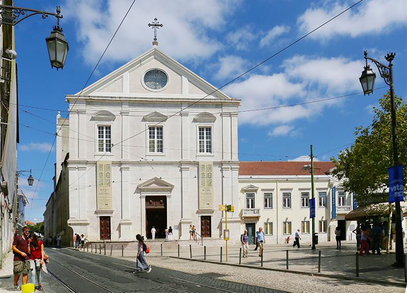 Церковь Святого Роха в Лиссабоне