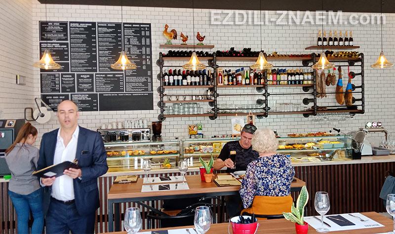 """Ресторан """"Mercado - Simply Portuguese"""", Лиссабон"""