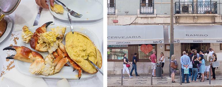 Servejaria Ramiro в Лиссабоне