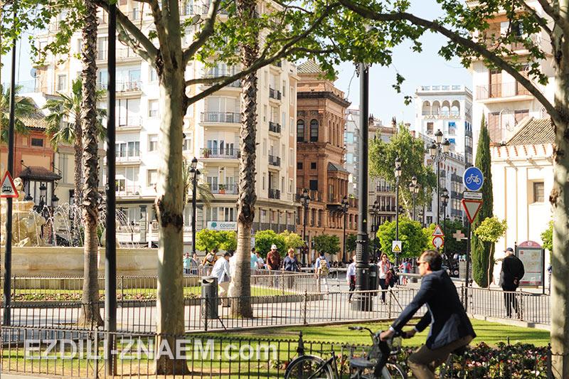 Прогулка по Севилье, Испания