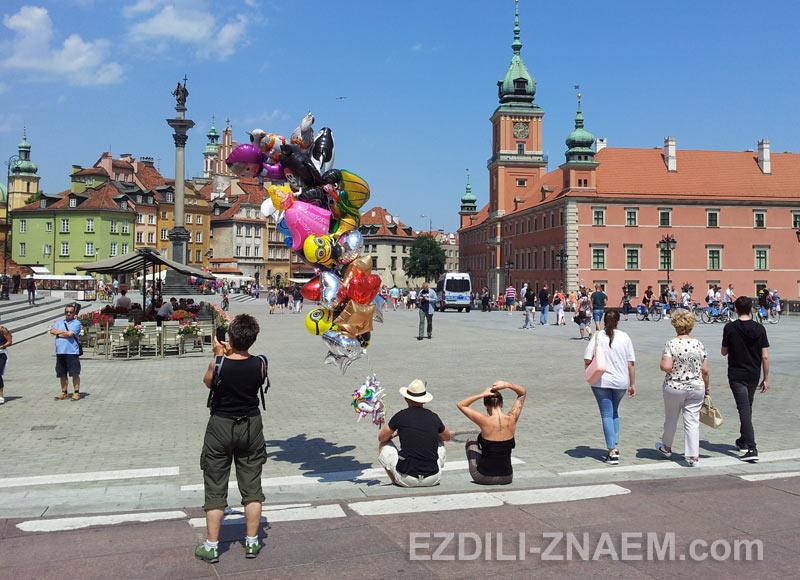 Прогулка по центру Варшавы