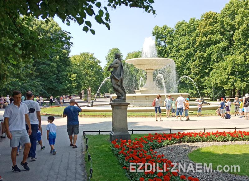 Национальный Парк в Варшаве