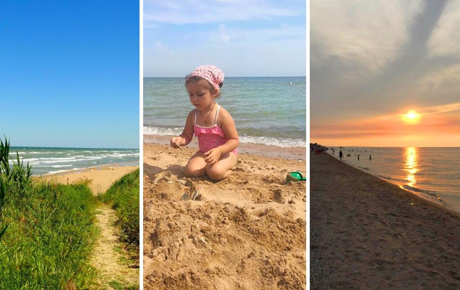 Отдых на Азовском море в России летом