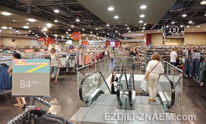 Шоппинг в торговом центре MAXX, Варшава