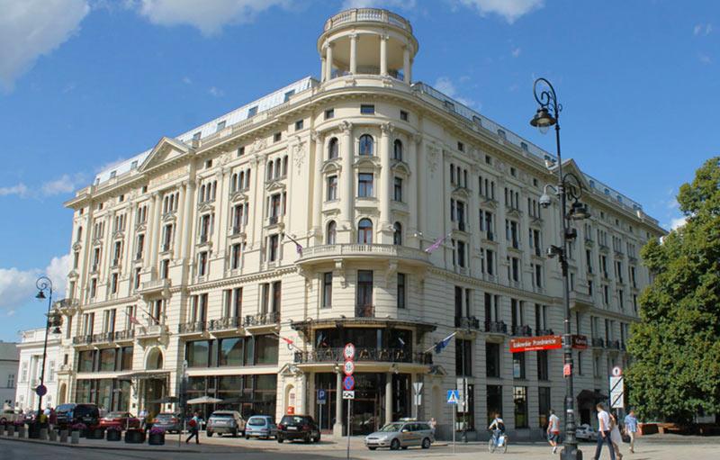 """отель """"Бристоль"""" в Варшаве"""
