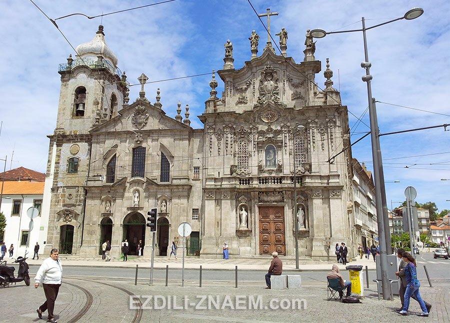 церковь Кармо в Порто