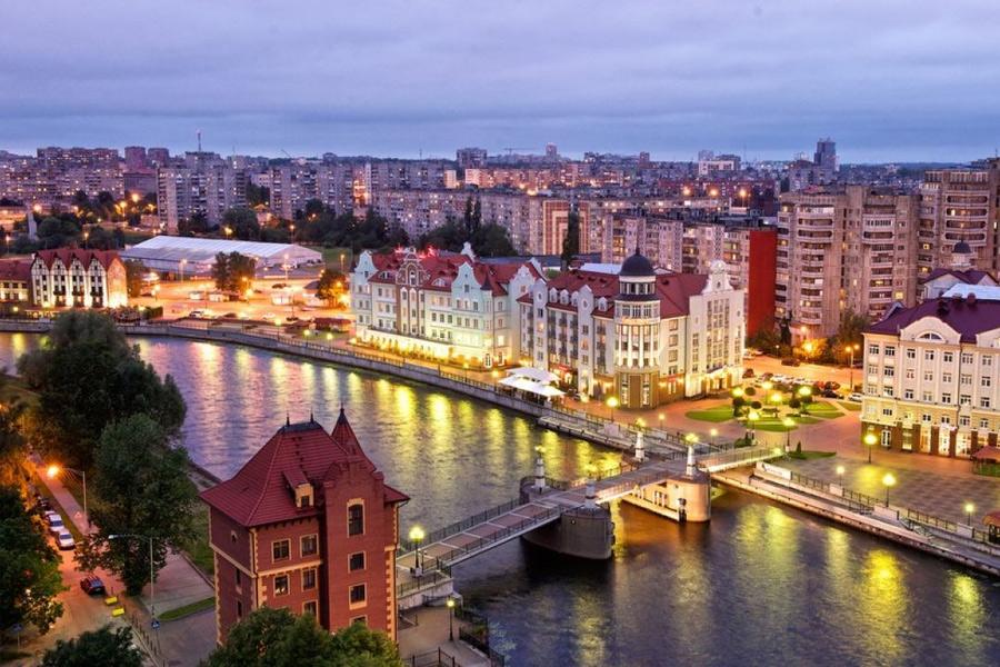 Вечерний Калининград