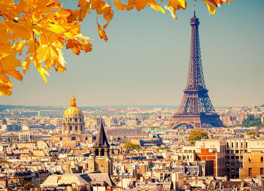 Париж осенью