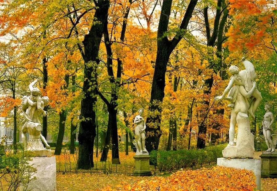 Осень в Петербурге: Летний Сад