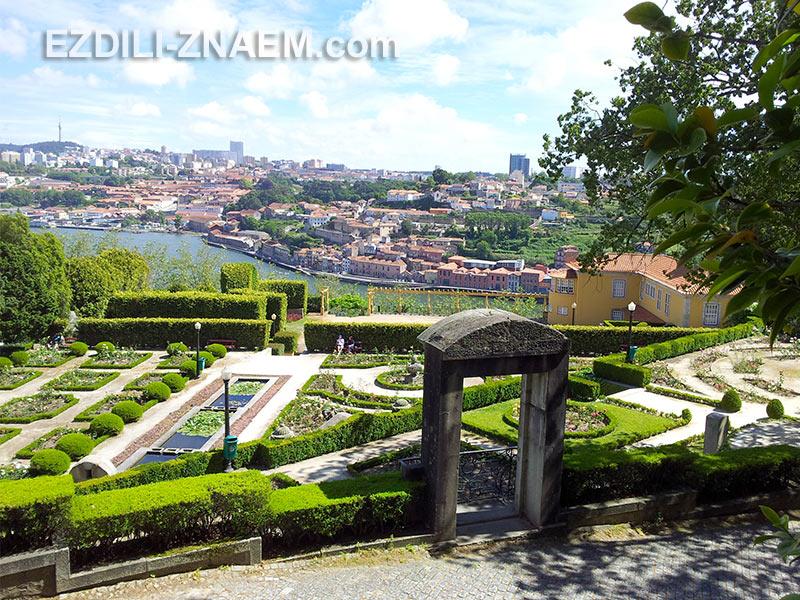 Интересные места в Порту: Парк вокруг Кристального Дворца
