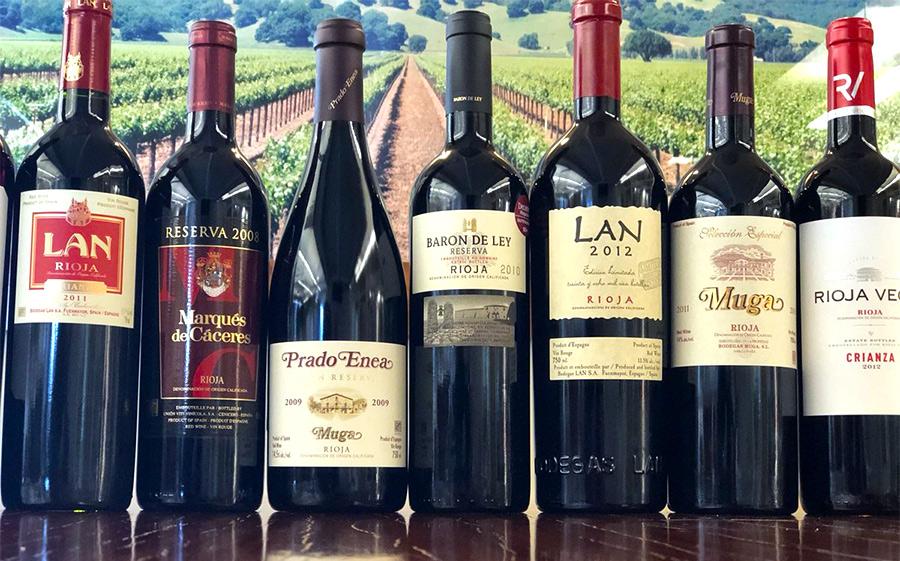Испанские вина, фото