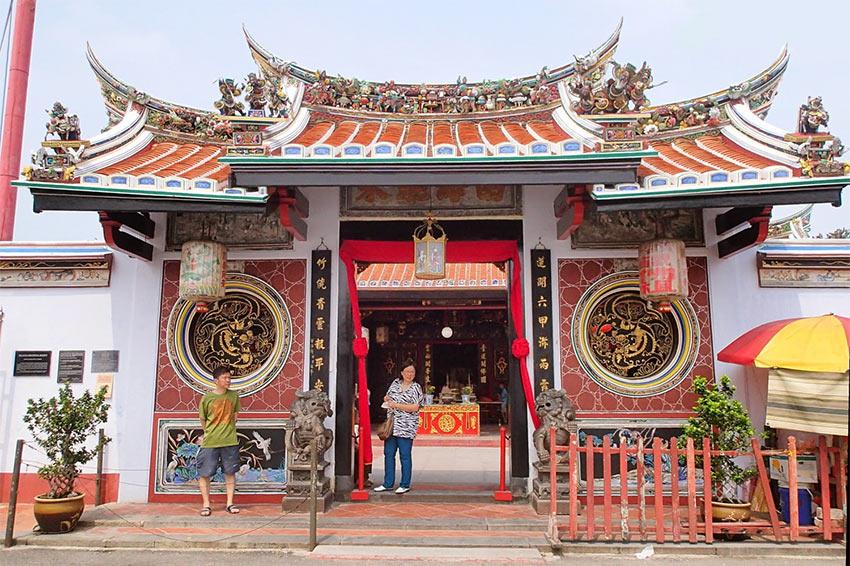 Буддийский китайский храм Cheng Hoon Teng в Малаке