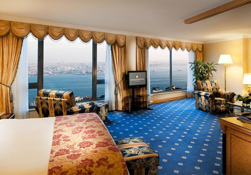 "Номер в отеле ""Интерконтиненталь"", Стамбул"