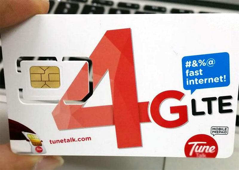 Заказанную SIM-карту можете получить в аэропорту KLIA