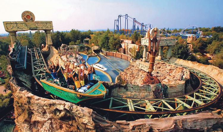 Гардаленд - крупнейший парк развлечений в Италии