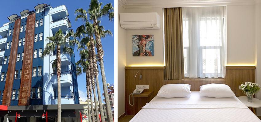 Бюджетный отель Comfort Suites в центре Алании
