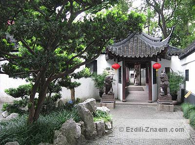 Шанхай: внутри сада Юй Юань