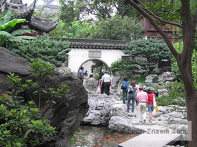 Китай. Сад Юй Юань в Шанхае
