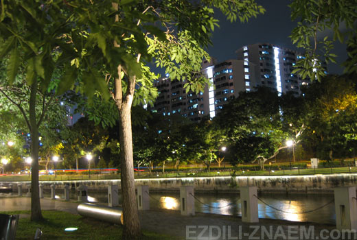 Сингапур. Набережная Clarke Quay