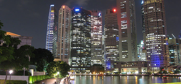 Вечерний Сингапур