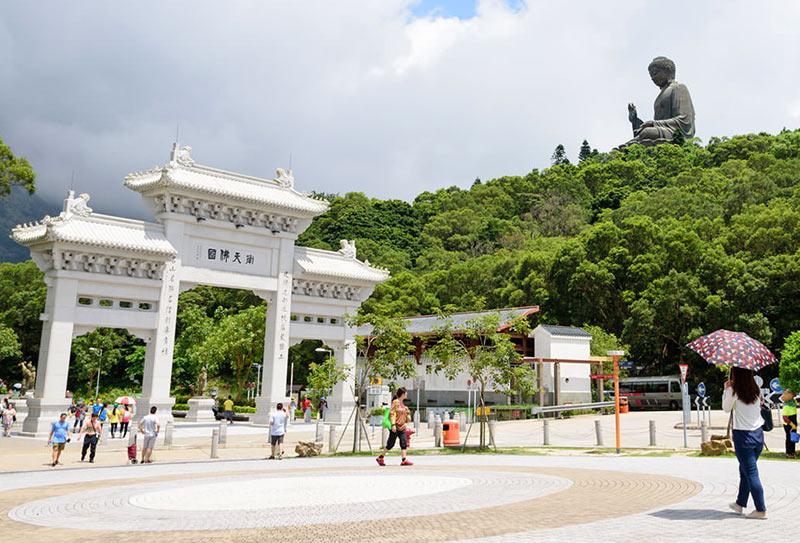 монастырь По Линн на острове Лантау, Гонконг