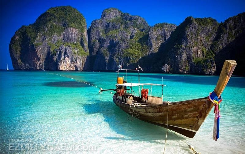 Острова Пхи Пхи, бухта Майя Бэй