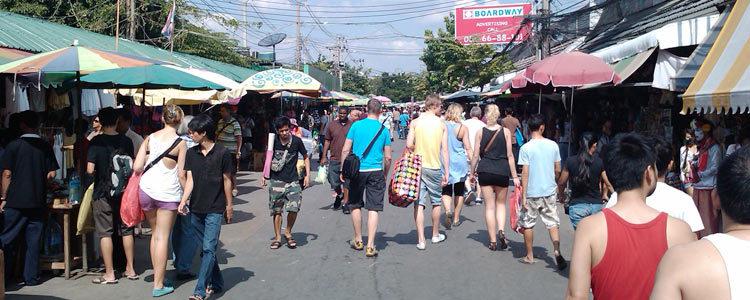Тайланд. Шоппинг в Бангкоке: рынок Чатучак