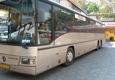 Чехия. Автобусом до Пльзеня. Автовокзал Флоренц