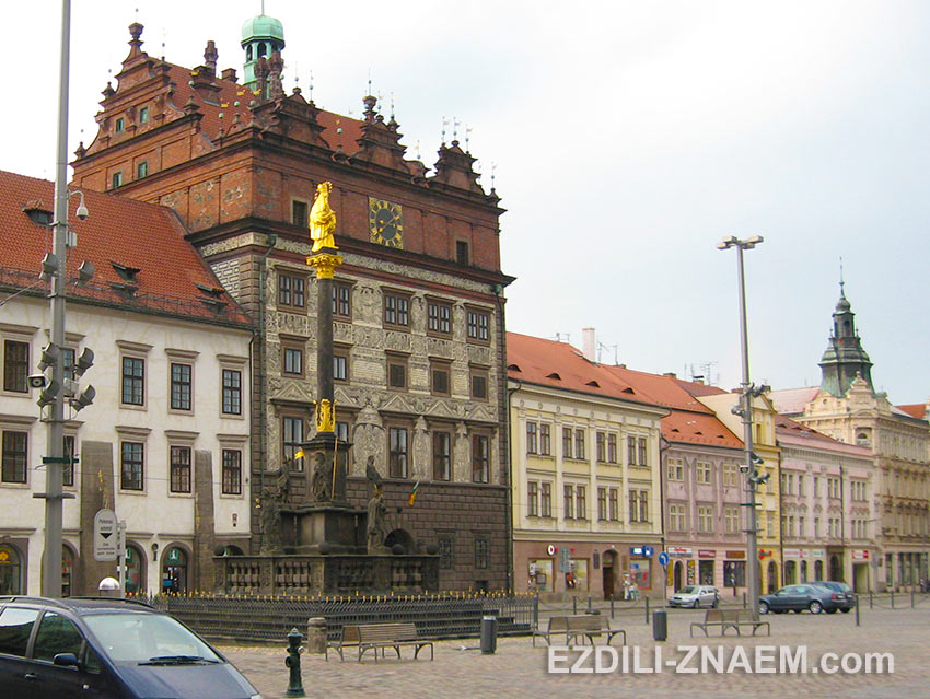 Прогулка по центру Пльзеня, Чехия