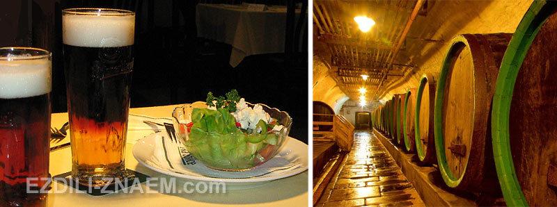 Ресторан на территории пивзавода Пилснер в Пльзене, Чехия
