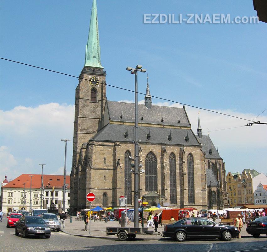 Чехия. Собор Святого Варфоломея в Пльзене