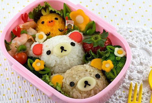 Позитивная еда Bento в Японии