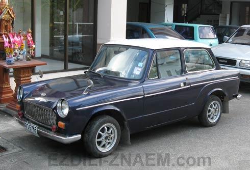 Раритетные авто в Тайланде