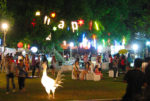 Тайланд. Арт-фестиваль в Чиангмае. Вечерняя тусовка