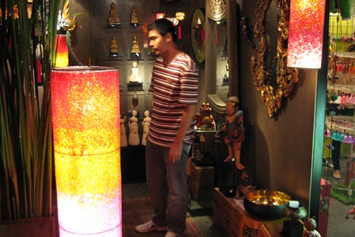 Чианг-Май. павильоны на арт-фестивале.