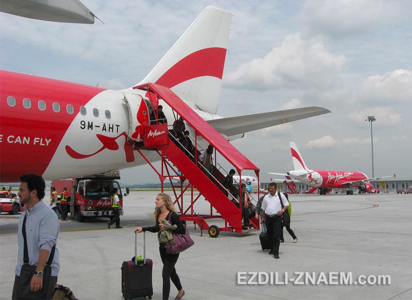Авиакомпания AirAsia - отзывы туристов о полетах Эйр Азия