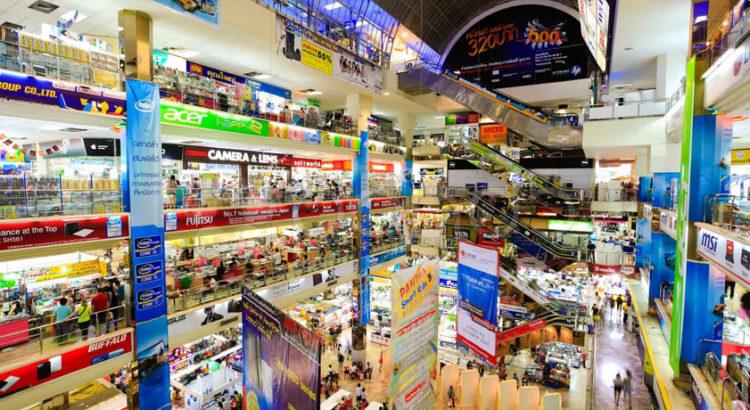 Тайланд. Шоппинг в Бангкоке: Пантип Плаза