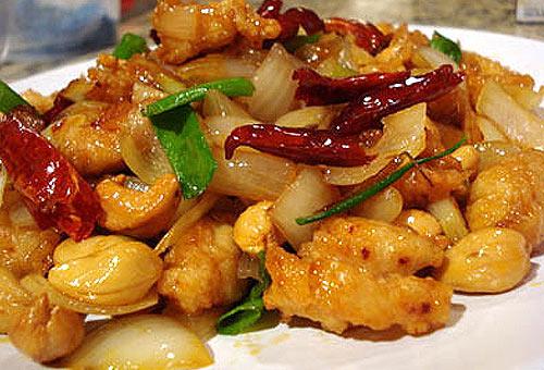 Еда в Тайланде: Жареная курятина